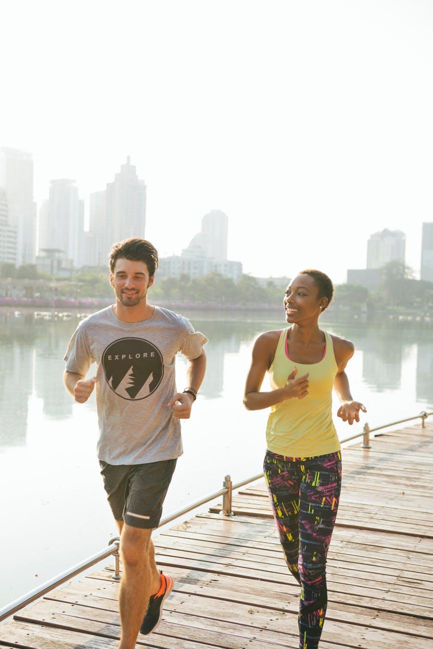 Correr pode ser feita em qualquer lugar
