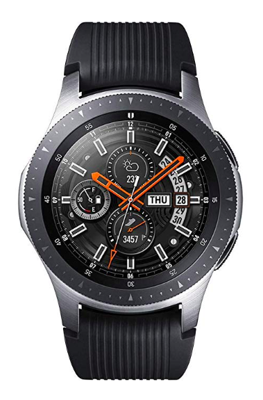 RElogio inteligente - Smartwatch Samsung Galaxy Watch Bt 46mm Pulseira de Silicone
