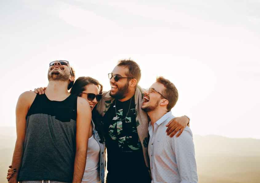 Um bom riso prolonga a vida, foi dito nos velhos tempos