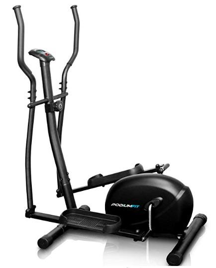 Com cross trainer, você pode queimar entre 300 e 600 calorias em uma hora